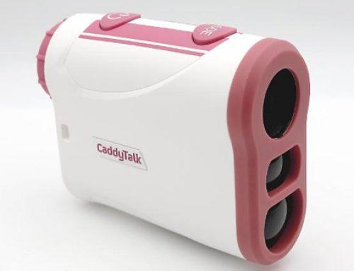 골프존, 거리측정기 '캐디톡미니 핑크'출시